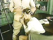 Slutty Librarian Bridgette Monet Gets Fucked In Missionary Posit
