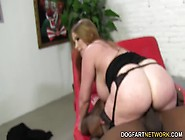 Busty Mom Desiree De Luca Enjoys Black Dick While Son Watches