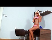 Lola Independent European Blonde Girl With Natural Tits Masturba