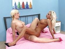 Best Pornstars Tara Lynn Foxx And Nikita Von James In Amazing Le