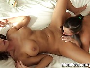 Hot Mom And Her Daughter Get Fucked