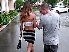 Tall Hottie Fiona In A Sexy Skin Tight Miniskirt