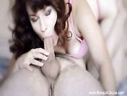 Magenta Red Head Milf Blowjob