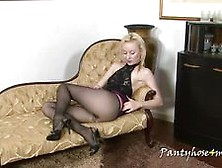 Perfect Tits In Nylons Video