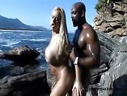 Brazilian Pornstar Cinthina Santos Loves Big Black Cocks