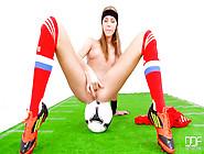 Wanna Slide Into This Blonde Fit Soccer Sweetie Krystal Boyd?