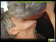 Chubby Grey-Haired Granny Gets Fucked Wearing Sexy Stockings