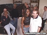 Caren's Cum Flying Bukkake - Movies
