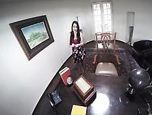 Miniskirt Cutie Lola Foxx Has Hot Pov Sex On A Desk