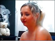 Alina Skype Sex Hot Blonde Big Tit Girl