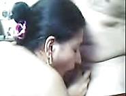 Bengaluru Mature Bbw Aunty Sucking Her Devar's Dick On Cam