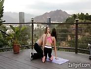 Yoga Class Ends With Sexy Nuru Massage