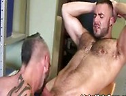 Silver Bear Gets His Ass Hammered By A Younger Man
