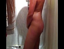 Spy cam threw peep hole capture hot wife masturbating while tanning