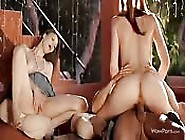 Threesome With Two Wonderful Young Girls
