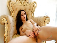 Skinny Solo Chick Has The Hottest Hairy Pussy