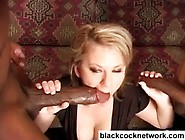Slutwife Worships Two Huge Black Cocks