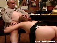 Sensual Teen Sucks And Fucks An Old Dick