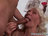 Granny Sucks And Rides