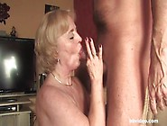 Beautiful Blonde German Mature Gives Nice Blowjob Before Hard Pu