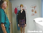 Ava Gets Sent To The School Doctor