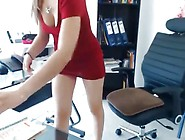 Tease In The Office