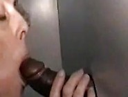 Cuckold Hubby Sucks Snowball At Gloryhole