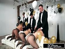 New Year Party Orgy - Chanel Preston,  Kristina Rose,  Phoenix Mar