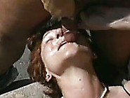 Slutty White Whore Gets Her Pussy Banged Hard By A Group