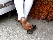Candid Indian Shoeplay 2