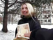 Busty Czech Girl Picked Up And Fucked