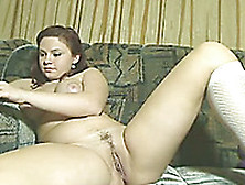 Lewd Floozy With Big Tits Fucks Her Poop Chute With Her Sex Toys