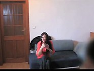Slender Milf Opens Her Legs Wide At A Casting