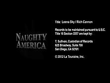 Naughty America Leena Sky