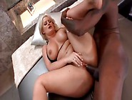 Oiled & Curvylicious Julie Cash Gets Her Huge Bubble Butt Fucked