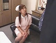 Japanese Sexy Nurse Vs Big Black Cock