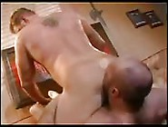 Burly Blonde Dude Getting His Asshole Licked