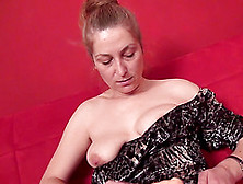 Raunchy Mature Slut Whips Out Her Dildo And Masturbates