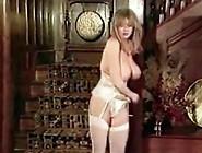 I Luv The 80 Vintage Big Tits Striptease Stockings Dance