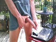 Outdoor Morning Edging Foreskin Play #2