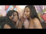 Black College Girl Twins Treated Nice Rough