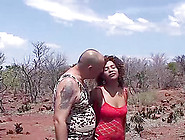 Hot Chocolade African Babe In Her First Safari Gangbang Fuck Org