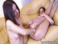 Unforgiving Lesbian Anal Fisting Pleasure With Lana Ray And Roxy