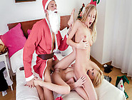 Hot Ffm Christmas Threesome With Swinger Couple And Spanish Babe