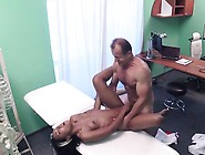 Doctor Fucks Ebony In His Office