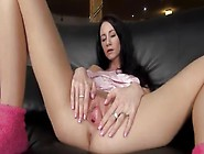 Sexy Vibrator Inserted In Her Czech Vagina