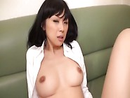 Crazy Japanese Model Maki Amemiya In Amazing Big Tits,  Fingering