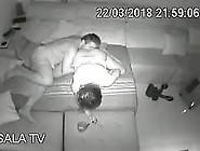 Ip Cam Hack -Security Cam - Couple Fuck In Tv Room On Couch