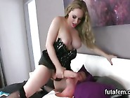 Kittens Screw Guys Butthole With Huge Strap-On Dildos And Squ