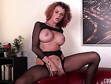 Joslyn James Performs A Great Solo Show In A Full Body Stocking
